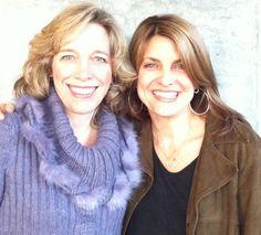 At Uplevel World Headquarters in Asheville with my friend Pamela Bruner.