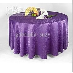 Wholesale Table Cloth - Buy RN194 Hotel Wedding Restaurant Home Jacquard Table Cloth Tablemat Round Min$14.02 | DHgate