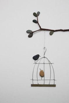 DIY z kamieni dekoracje eco manufaktura Pebble Art