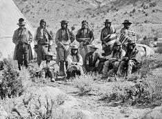 Paiute group 1871
