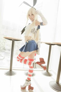 Title : Kantai Collection Cosplay BlogPage Character : Shimakaze Coser : Ely Cosplay
