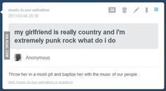 Baptism done right! I Love Music, Music Is Life, Emo Bands, Music Bands, Funny Quotes, Funny Memes, Hilarious, Emo Quotes, Stupid Funny