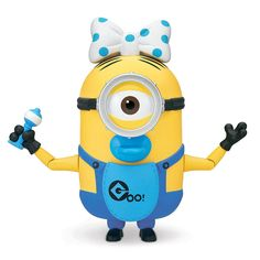 Despicable Me 2 Build-A-Minion Mr. Tim Deluxe Action Figure: 2 toys in 1 Snap in the parts for Minion Mr. Tim or Party version with party hat & blower Ages 4 and up Add party hat blower Be Minion Toy, Despicable Me 2 Minions, Minion Stuff, Kaito, Build A Minion, Minion Characters, Web Design, Minion Birthday, 5th Birthday