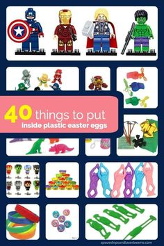 40 Things to Put Inside Plastic Easter Eggs