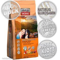 • Mac's SensiMono Duck 12kg Hundefor Superfoods, Dog Food Recipes, Mac, Baseball Cards, Dogs, Pet Dogs, Super Foods, Dog Recipes, Doggies