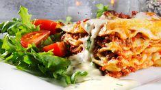 Lasagne med ostesaus
