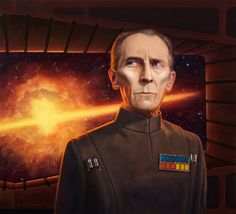 Grand Moff Tarkin by ~allendouglasstudio