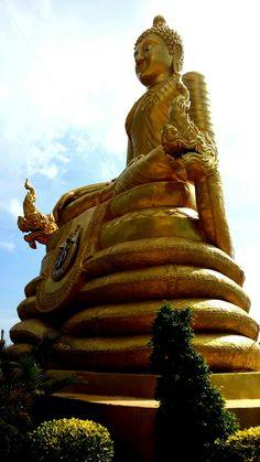 The smaller Bhudda- the Big Bhudda, Phuket