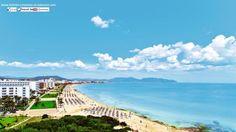 #turismBaleares. La playa de Cala Millor (MALLORCA), 1,750 metros de fina arena. Información en: http://www.hoteles-y-turismo-en-baleares.com/