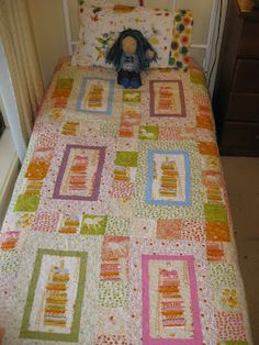Hey there Alice: Far Far Away Quilt- Princess and the Pea