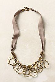 Anthropologie necklace inspiration.
