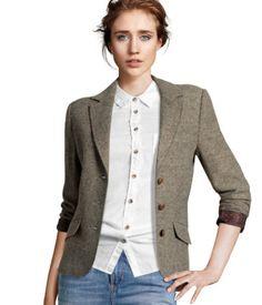 HM Blazer Bring on the Menswear: The Fall Blazer