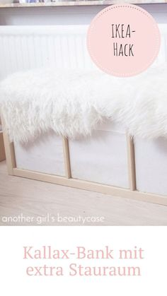 The IKEA Kallax series Storage furniture is an important part of any home. They offer get and allow you to hold track. Stylish and wonderfully easy the corner Kallax from Ikea , for example. Ikea Hack Bench, Ikea Hack Kids, Diy Kallax, Kallax Shelf, Ikea Kallax, Teen Room Furniture, Teen Room Decor, Bench Furniture, Furniture Ideas