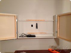 Honey Does Diy Flat Screen Tv Cabinet