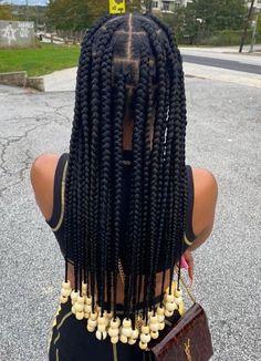 Black Girl Braids, Braided Hairstyles For Black Women, Braids For Black Hair, Girls Braids, Braids On Natural Hair, Natural Black Hairstyles, Braids Hairstyles Pictures, African Braids Hairstyles, Baddie Hairstyles