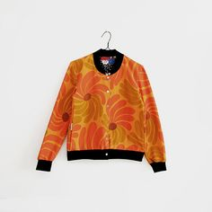 Eco-friendly Bomber Jacket recycled cotton organic cotton