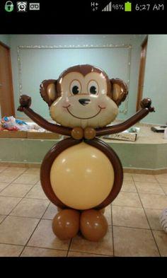 Monkey Balloon Sculpture