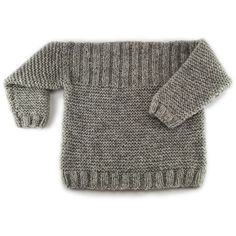 to 12 yearsKnitted cloths have long been a trend, and here comes the first book on cloths - i Rags; knitting all year by Bitta Mikkelbor. Baby Boy Knitting Patterns, Baby Sweater Knitting Pattern, Summer Knitting, Knitting For Kids, Pull Bebe, Knitted Hats Kids, Boys Sweaters, Baby Cardigan, Crochet Baby