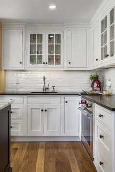 Traditional Farmhouse Kitchen in Madison, CT | Kitchen Photo Gallery