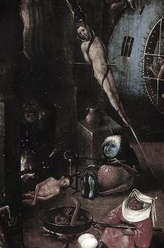 The Last Judgement (detail) by Hieronymus Bosch