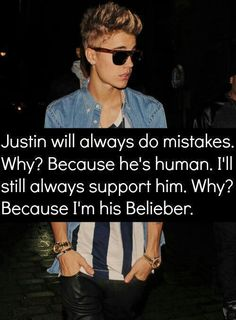 Why? Because I'm his Belieber