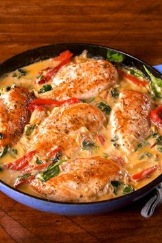 Spinach & Artichoke Chicken