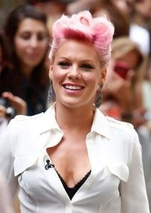 Pink wrote Beam Me Up after a miscarriage