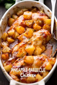 Pineapple Barbecue Chicken Recipe