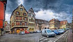 Old city of Colmar in Alsace, France / Ciudad Historica de Colmar en Alsacia, Francia
