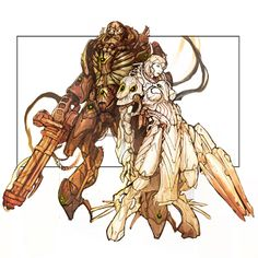 If you're looking for the UC, and team, you might want to check Nightmare Black Legion. The Black Legion is a team appearing in the Unreal Tournament series. Berserker Rage, Unreal Tournament 2004, Legion Characters, Gears Of War 2, Female Cyborg, Alien Races, Unreal Engine, Space Marine, Cool Art
