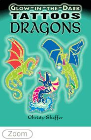 Glow-in-the-Dark Tattoos Dragons
