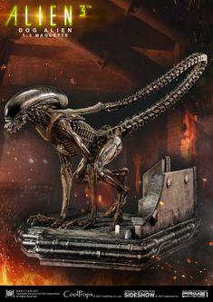 Alien dog maquette for Abner Marin Alien Film, Alien Art, Alien Alien, David Fincher, James Cameron, Giger Alien, Alien Character, Toy People, Alien Vs Predator