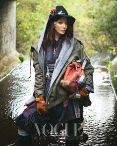 Romantic Hiking, Vogue Korea November 2009