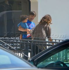Halle Berry And Olivier Martinez Bond With Son Maceo - Halle Berry Photos - X17 Online