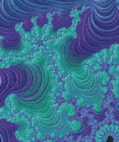 https://www.etsy.com/listing/522581543/fractal-cross-stitch-pattern-new-for #needlepoint