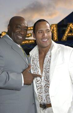 Michael Clarke Duncan & Dwayne Johnson We miss you Big Guy! The Rock Dwayne Johnson, Dwayne The Rock, Rock Johnson, My Black Is Beautiful, Beautiful People, Duncan, Big Guys, Black Star, Celebrity News