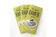 ニューヨークの人気ラーメン店を網羅した、All-You-Can-Eat Pressのラーメンマップの紹介。
