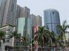 Guangdong--more congested city in south china.