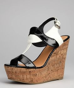 Take a look at this Black Zoey Wedge Sandal by Yoki on #zulily today!  LOVING THIS WEBSITE!!!