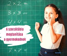 A szorzótábla megtanítása a gyermekednek - Könnyedén Tanulok 4x4, Back To School, Entering School, Back To College
