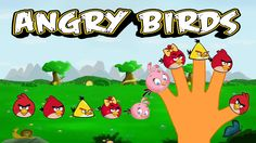 Finger Family Song of Angry Birds || Finger Family Nursery Rhymes for Kids