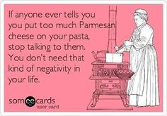 There is no such thing as too much parm <3