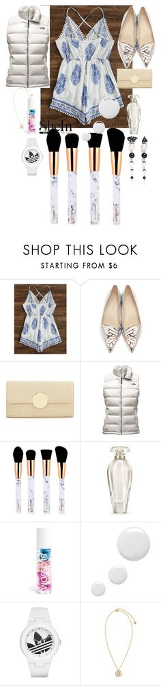 """My heart is fashion"" by anelia-georgieva ❤ liked on Polyvore featuring Sophia Webster, Kate Landry, The North Face, Victoria's Secret, Blossom, Topshop, Versace and Joomi Lim"