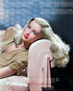 5 DAYS! 8X10 SEXY VERONICA LAKE IN THE GLASS KEY COLOR PHOTO BY CHIP SPRINGER. Please visit my Ebay Store at http://stores.ebay.com/x5dr/_i.html?rt=nc&LH_BIN=1 to see the current listings of your favorite Stars now in glorious color! Message me if you would like me to relist your favorites.