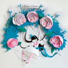 Alice in Wonderland vibe - Original talamaska