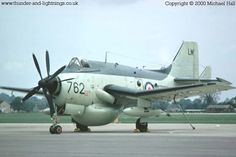 The Gannet , some say it's the ugliest aircraft ! Military Jets, Military Aircraft, Post War Era, Thunder And Lightning, Navy Aircraft, Royal Air Force, Aircraft Carrier, Royal Navy, Cold War
