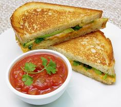 Tex-Mex Grilled Cheese