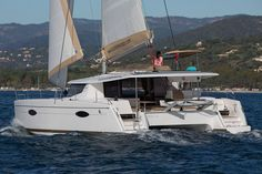 The new Fountaine-Pajot Helia 44 is a quick cruising catamaran that offers plenty of comfort, style and space.