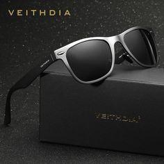 7814d568e6 2016 VEITHDIA Polarized Square Sunglasses Men Women Brand Designer Sun  Glasses Eyeglasses gafas oculos de sol