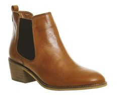 Buy Brown Leather Office Jenkins Chelsea Boots from OFFICE.co.uk.